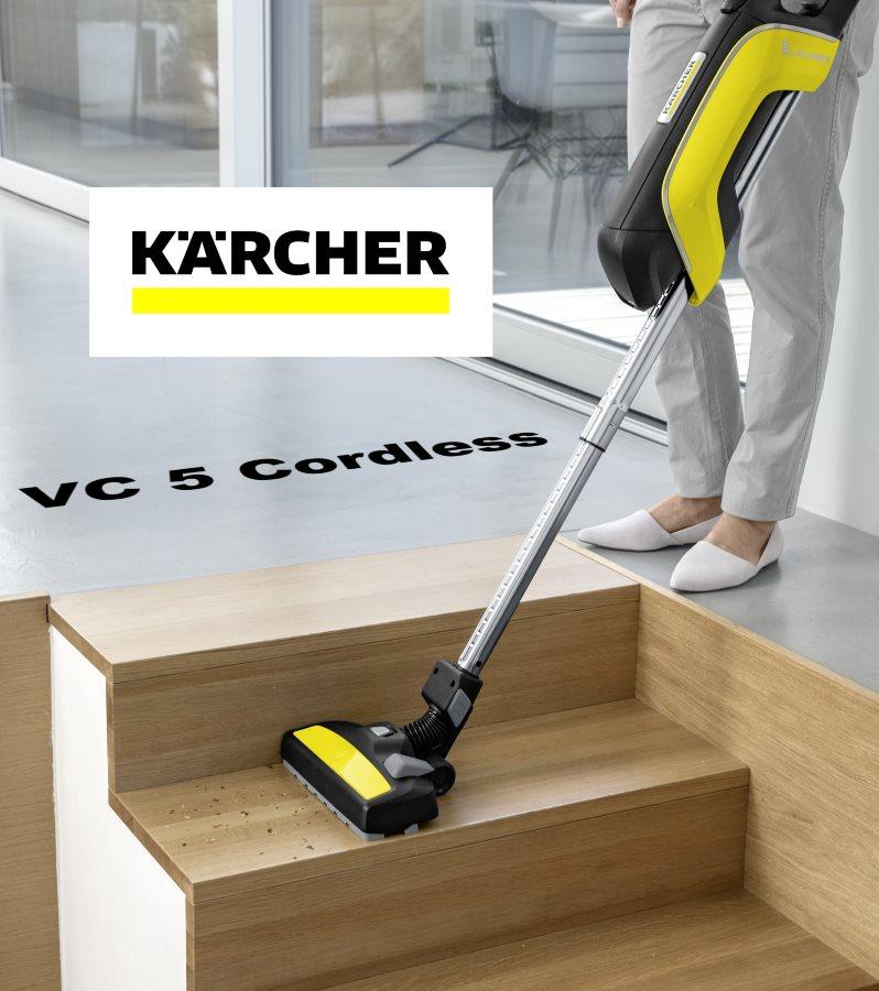 kärcher VC 5 Cordless Anwendungsbild