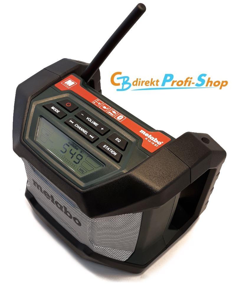 Metabo R 12-18 BT Baustellenradio