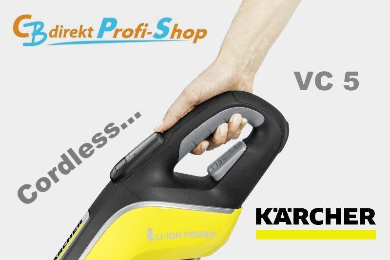 Kärcher VC 5 Cordless Softgrip