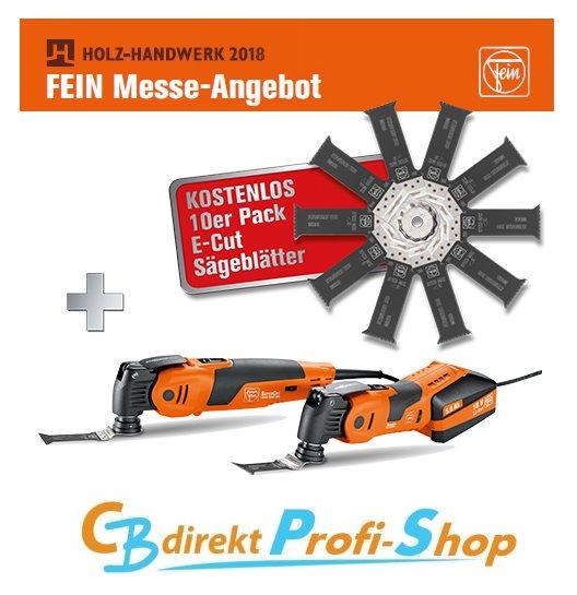 FEIN Messe Angebot HOLZ-HANDWERK 2018