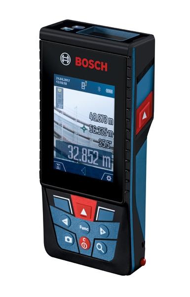 Bosch Laser-Entfernungsmesser GLM 120 C Seitenansicht rechts