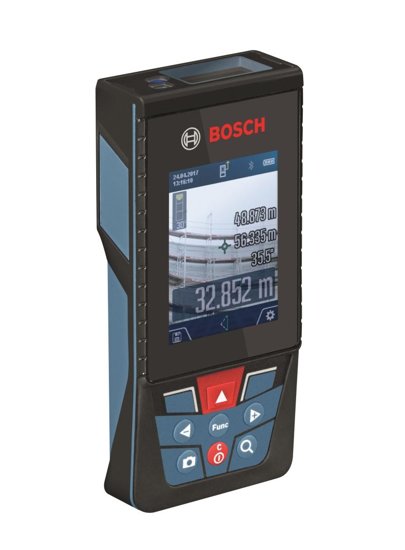 Bosch Laser-Entfernungsmesser GLM 120 C Seitenansicht links