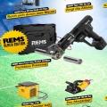 Rems WM Aktion mit Black Edition Akku-Press
