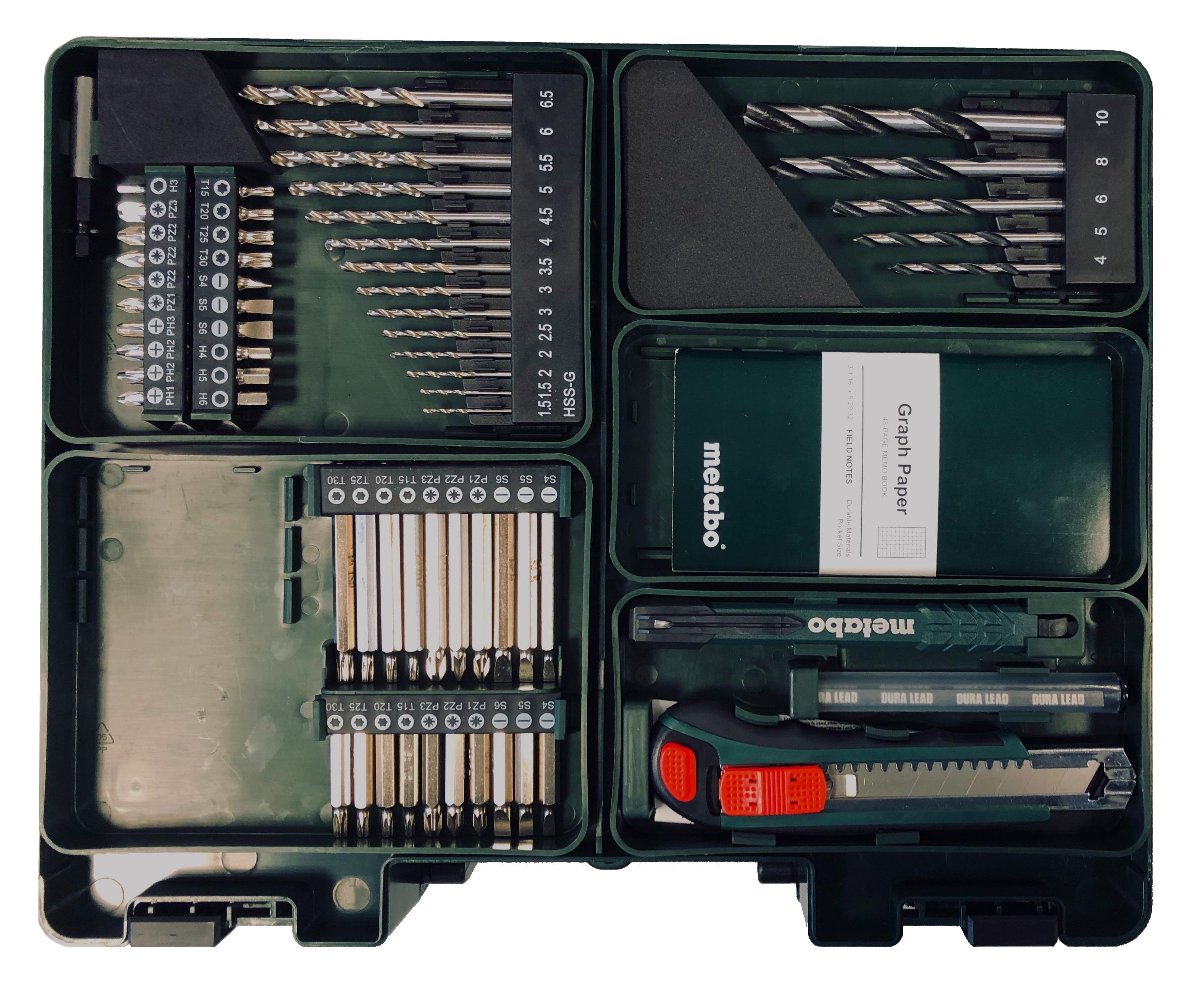 Metabo PowerMaxx Koffer Zubehör