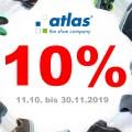 10% Nachlass auf Sicherheitsschuhe und andere Produkte von atlas!