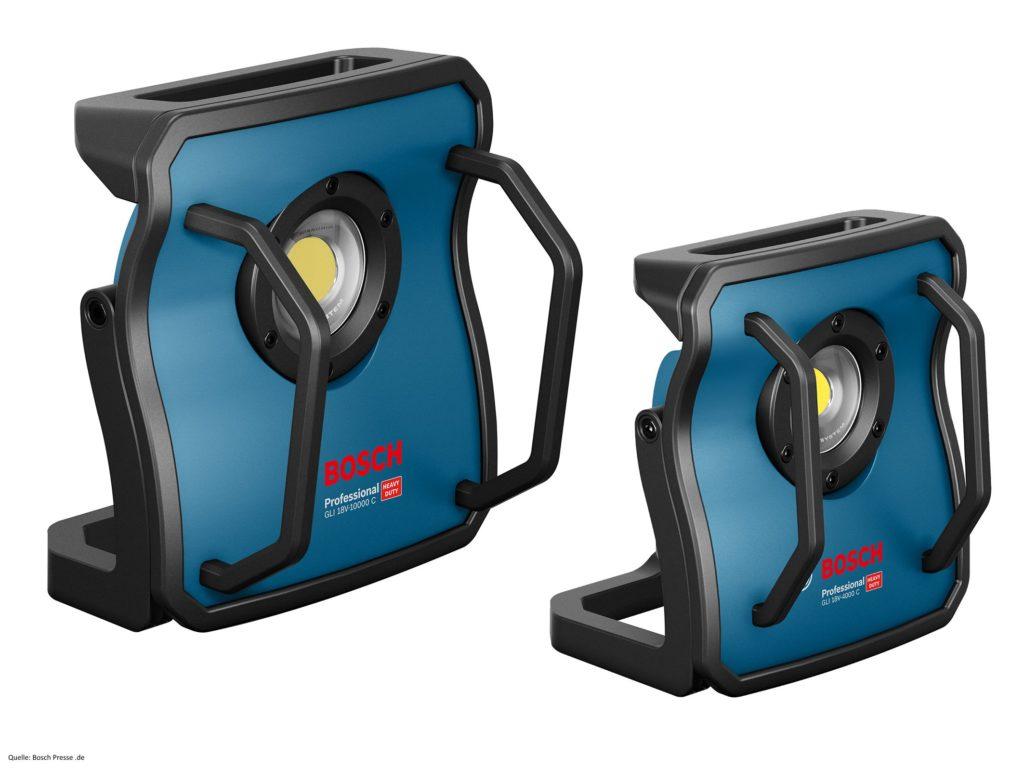 Bosch GLI 18V 10000 C und GLI 18V 4000 C