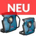 Bosch Akku-Baustrahler GLI 18V-10000 C Professional und GLI 18V-4000 C Professional