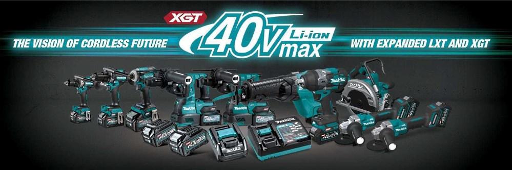 Makita 40 V max XGT