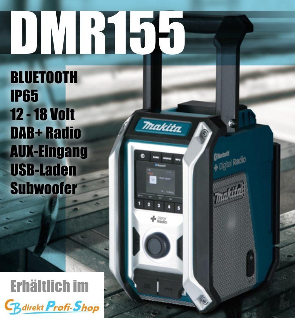MAKITA DM115 Akku-Baustellenradio