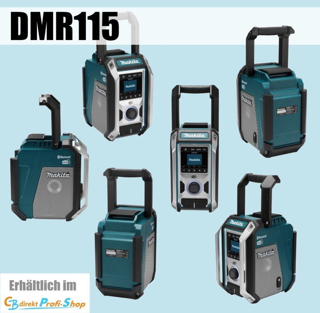 Makita DMR115 Akku-Baustellenradio
