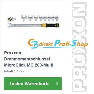 PROXXON MC 200 Multi MicroClick-Drehmomentschlüssel