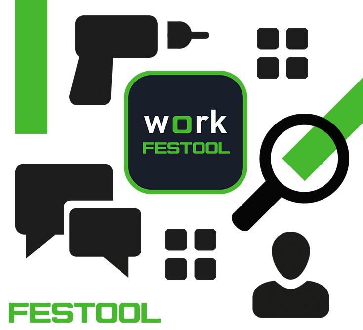 FESTOOL Work App Symbole