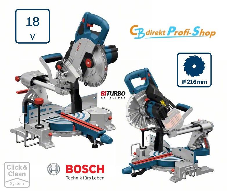 Bosch GCM 18V-216 Kapp-und Gehrungssäge