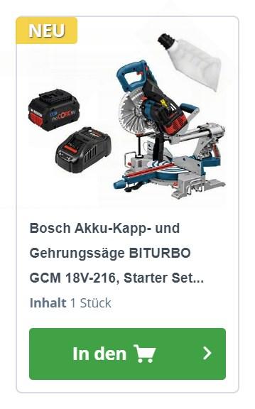 Bosch GCM 18V-216 0601B41001 Angebot