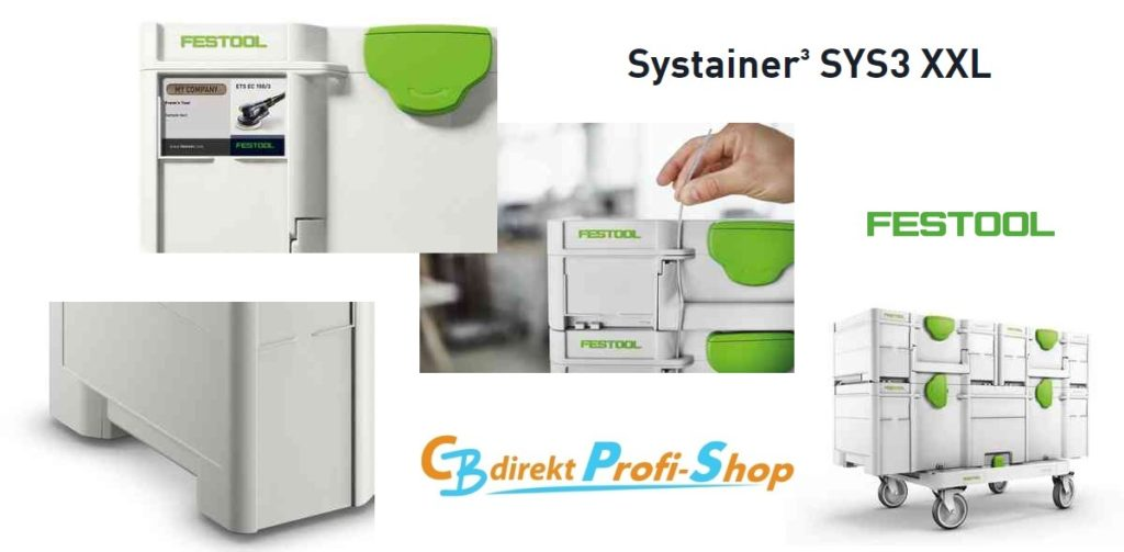 Festool Systainer³ SYS3 XXL Features