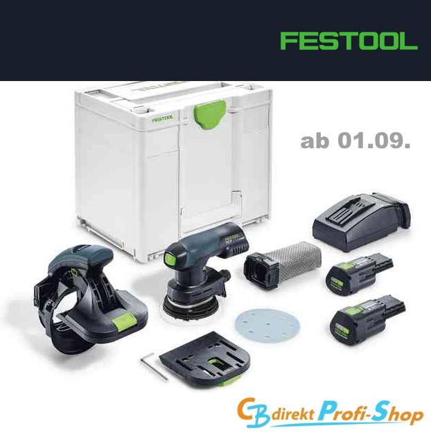 Festool Akku-Kantenschleifer ES-ETSC 125-3,1 I-Plus