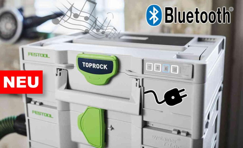 Festool Bluetooth Lautsprecher TOPROCK