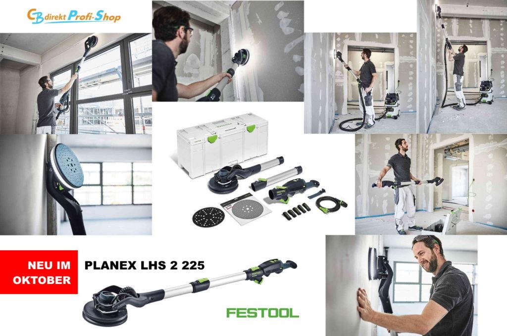 Festool LHS 2 225 Anwendung