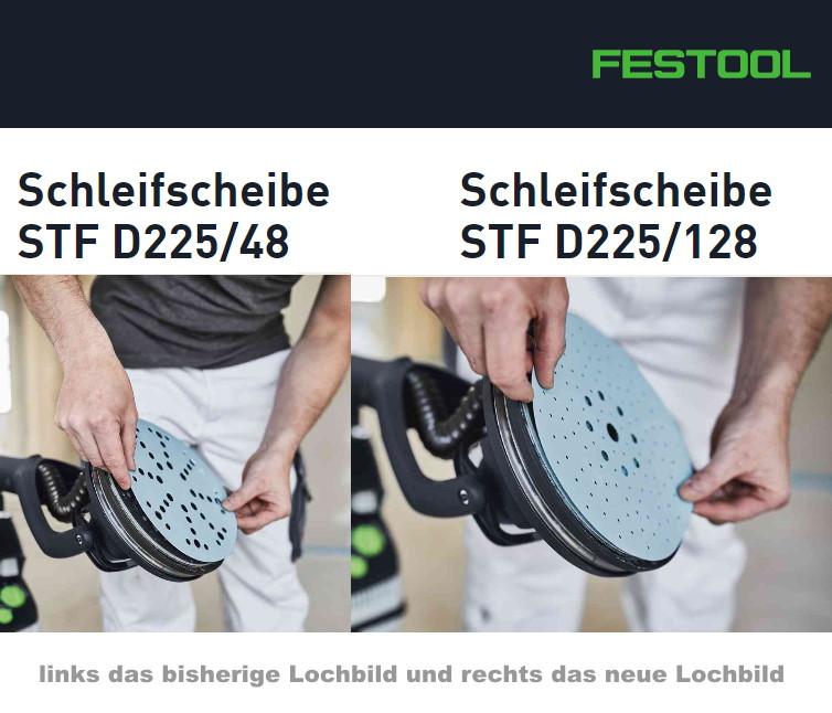 Festool Schleifmittel LHS neues Lochbild