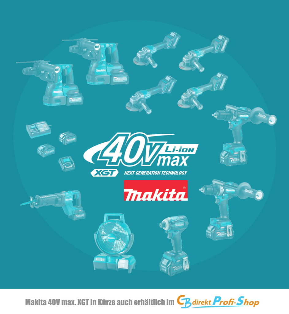 Makita 40V max XGT neue Maschinen