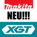 Makita XGT neue Maschinen