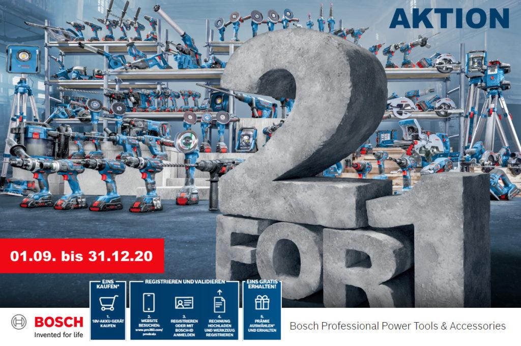 Bosch PRO Deals Aktion 2020