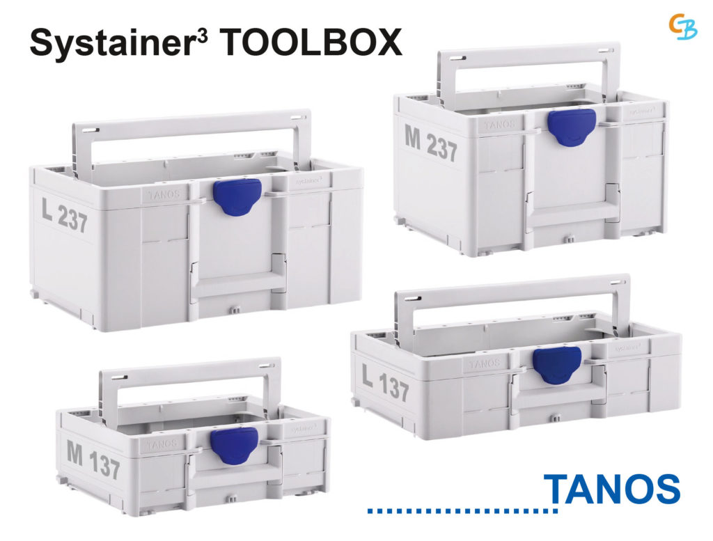 TANOS systainer³ ToolBox M L 137 237