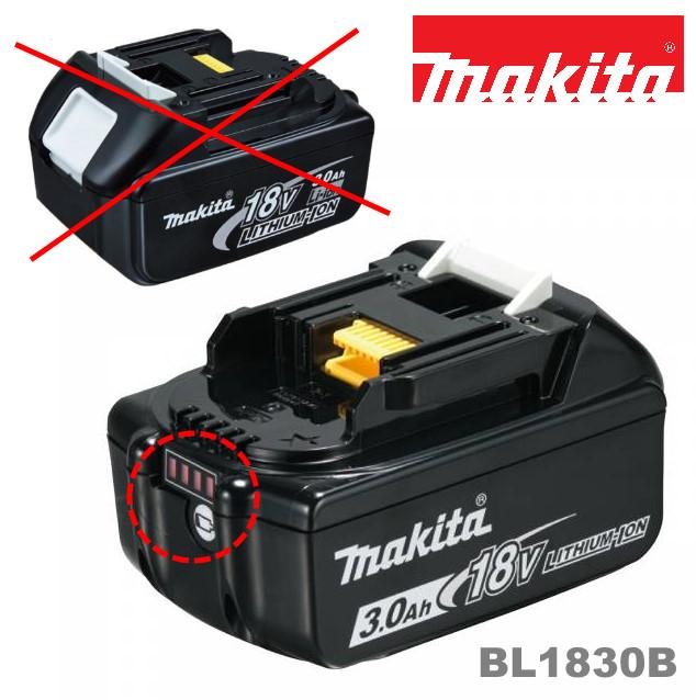 Makita 18 Volt Akku BL1830B
