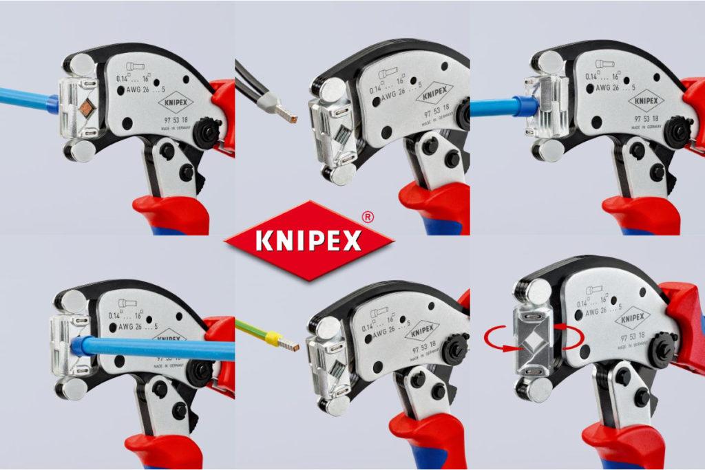 KNIPEX Twistor16 Anwendungsbilder