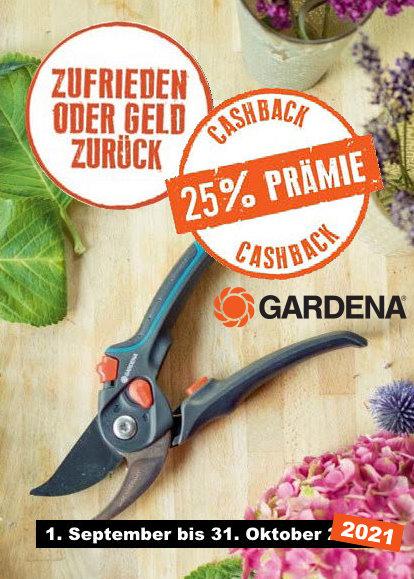 GARDENA Cashback 2021
